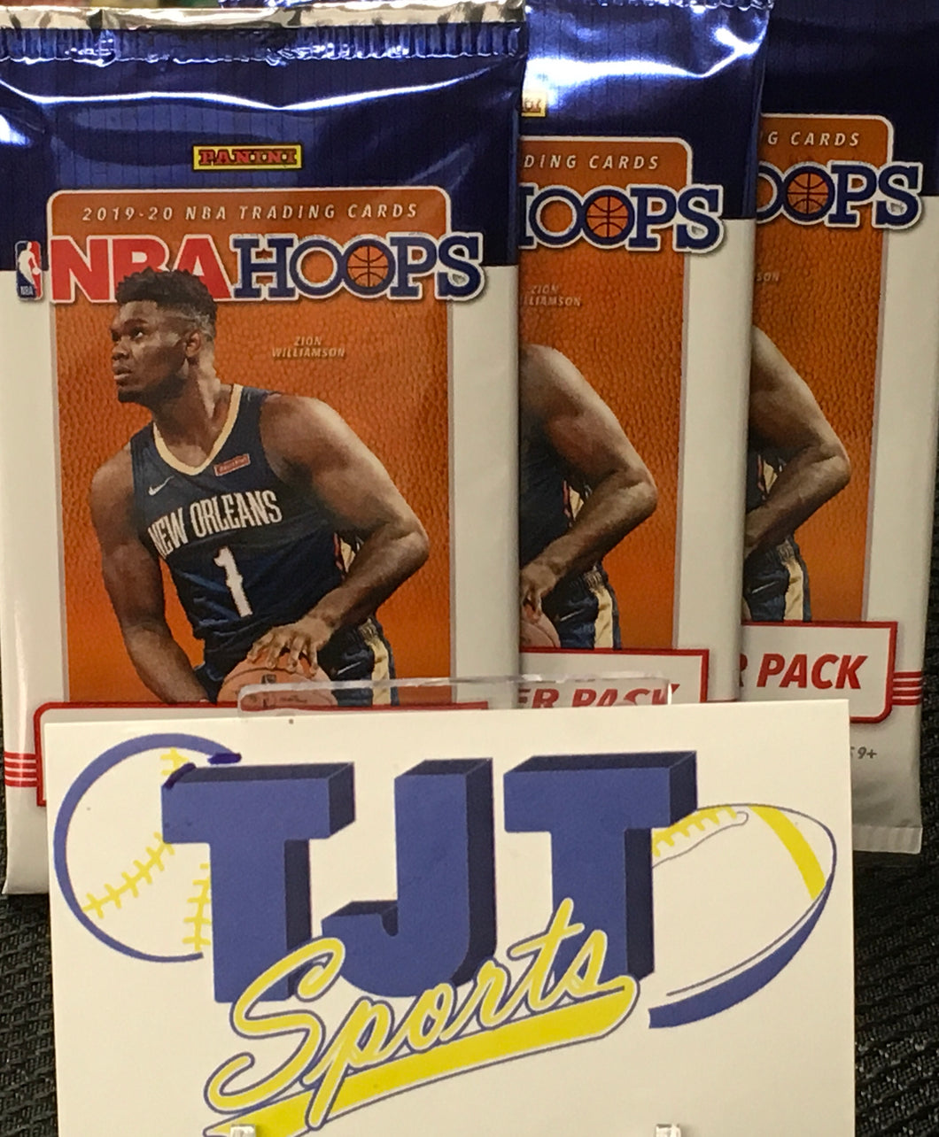 3 PACK LOT 2019-20 HOOPS BASKETBALL HOBBY