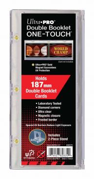 Ultra Pro Double Booklet Card Hold Magnetic One-Touch
