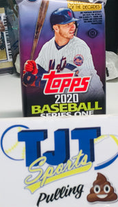 1 PACK 2020 TOPPS SERIES BASEBALL JUMBO