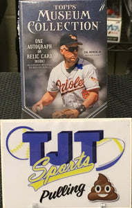 1 MINI BOX 2019 TOPPS MUSEUM COLLECTION BASEBALL HOBBY