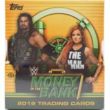 2019 Topps WWE Money In The Bank Hobby Box