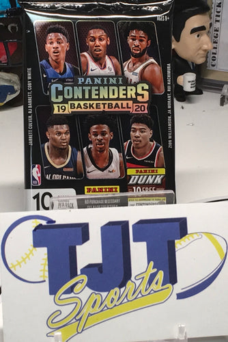 1 PACK 2019-20 CONTENDERS BASKETBALL HOBBY