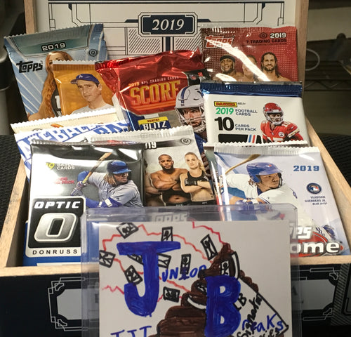 JUNIOR BREAKS Mad Max Packs To Go! Mixed Sports or Baseball Available