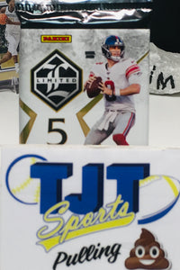 1 PACK 2019 PANINI LIMITED FOOTBALL HOBBY