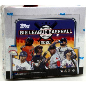2020 Topps Big League Baseball Hobby Box SHIP SEALED ONLY