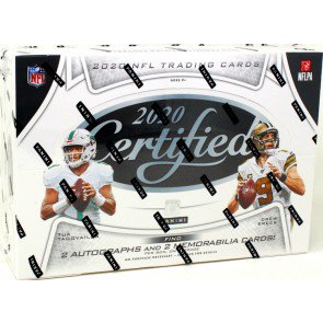 2020 Panini Certified Football Hobby Pack