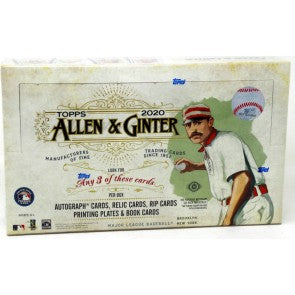 4 PACK LOT 2020 TOPPS ALLEN & GINTER BASEBALL HOBBY