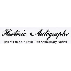 2020 Historic Autographs Hall of Fame & All-Star 10th Anniversary Edition Baseball Box