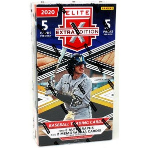 2020 Panini Elite Extra Edition Baseball Hobby Pack