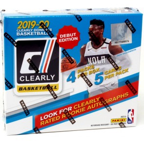 2019-20 Panini Clearly Donruss Basketball Hobby Pack