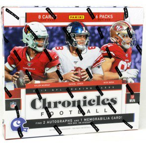 2019 Panini Chronicles Football Hobby