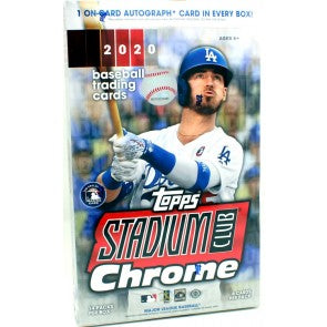 2020 Topps Stadium Club Chrome Baseball Hobby Pack