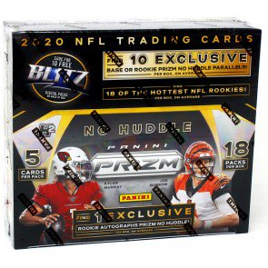 2020 Panini Prizm Football No Huddle Pack
