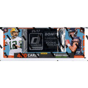 2017 Panini Donruss Football Factory Set SHIP SEALED ONLY