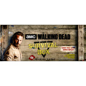 2017 Topps Walking Dead Survival Mini Box