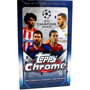 2019-20 Topps Chrome UEFA Champions League Hobby Pack