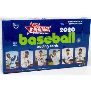2020 Topps Heritage High Number Baseball Hobby Pack