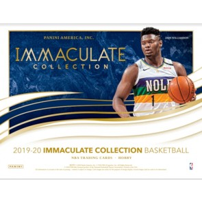 2019-20 Panini Immaculate Basketball Hobby Box