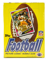 1984 Topps Football Wax Pack - Fresh From BBCE Wrapped Box