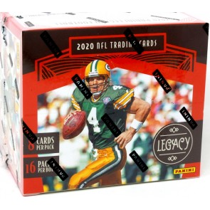 2 PACK LOT 2020 LEGACY FOOTBALL HOBBY