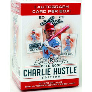 "2020 Leaf PETE ROSE ""Charlie Hustle Edition"" Baseball Box SHIP SEALED ONLY"