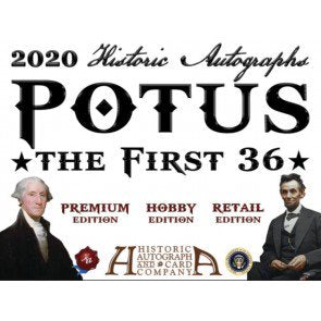 2020 Historic Autographs POTUS The First 36 Hobby Box