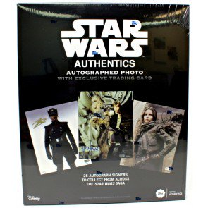 2019 Topps Star Wars Authentics Hobby Box