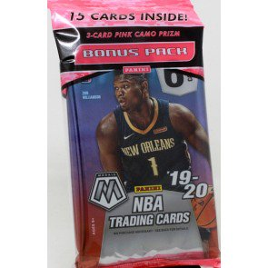 2019-20 Prizm Mosaic Basketball Multi Cello Pack