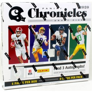 2020 Panini Chronicles Draft Picks Football Hobby Box