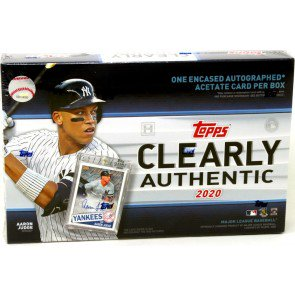 2020 Topps Clearly Authentic Baseball Hobby Box