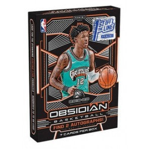 2019-20 Panini Obsidian Basketball First Off The Line FOTL Box