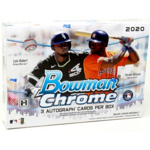 2020 Bowman Chrome Baseball HTA Box