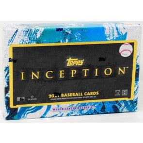 2021 Topps Inception Baseball Hobby Box