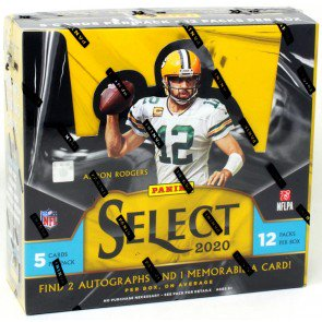 2020 Panini Select Football Hobby Pack