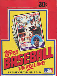 1983 Topps Baseball Wax Pack - Fresh From BBCE Wrapped Box