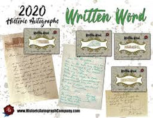 Load image into Gallery viewer, 2020 Historic Autographs Written Word Baseball Hobby Box