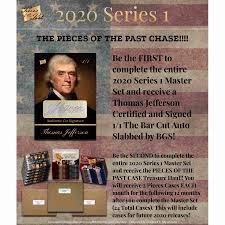 2020 Pieces of the Past Series 1 Hobby Box