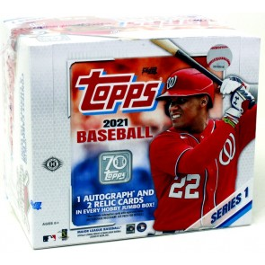 2021 Topps Series 1 Baseball Jumbo Pack