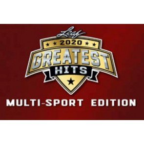 2020 Leaf Greatest Hits Multi Sports Box