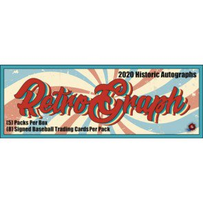 2020 Historic Autographs Retro Graphs Baseball Hobby Box