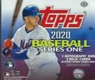 2020 Topps Series 1 Baseball Jumbo Box SHIP SEALED ONLY