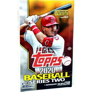 6 PACK LOT 2020 TOPPS SERIES 2 BASEBALL HOBBY