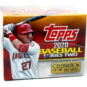 6 BOX CASE 2020 TOPPS SERIES 2 BASEBALL JUMBO