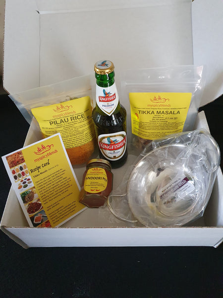 Christmas Curry and Beer lovers gift box.
