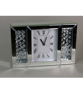 Crystal Decor Mantle Clock