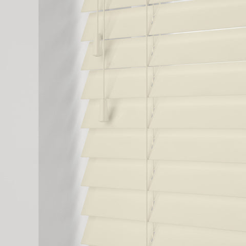 GLOSS CREAM WOODEN BLINDS LLANELLI