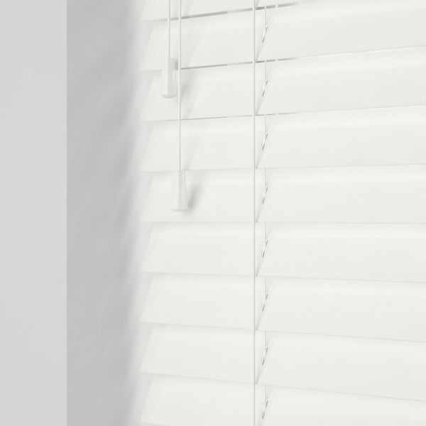 GLOSS PURE WOODEN BLINDS 50MM