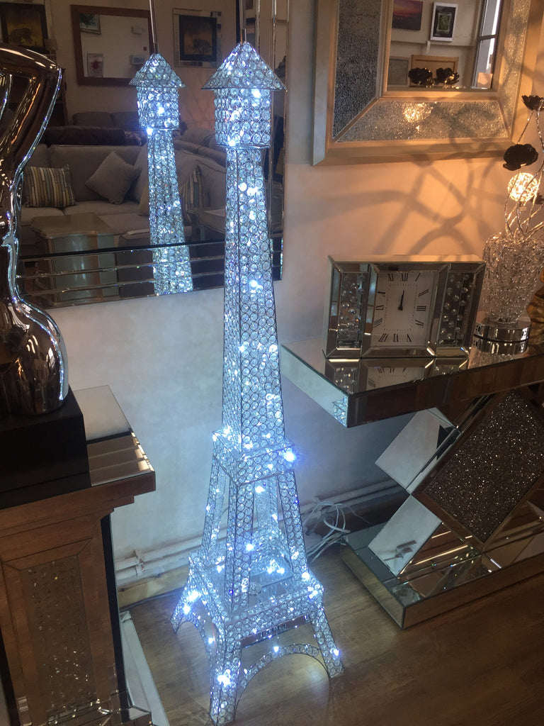 Great Silver Led Floor Lamp Mike Rickwood Carpets And Furniture Eiffel Tower Led  Crystal Images 1 2