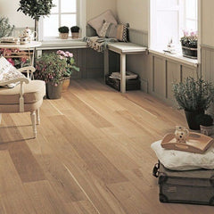 Elka 14mm Rustic UV Brushed & Oiled Oak Engineered Wood Flooring