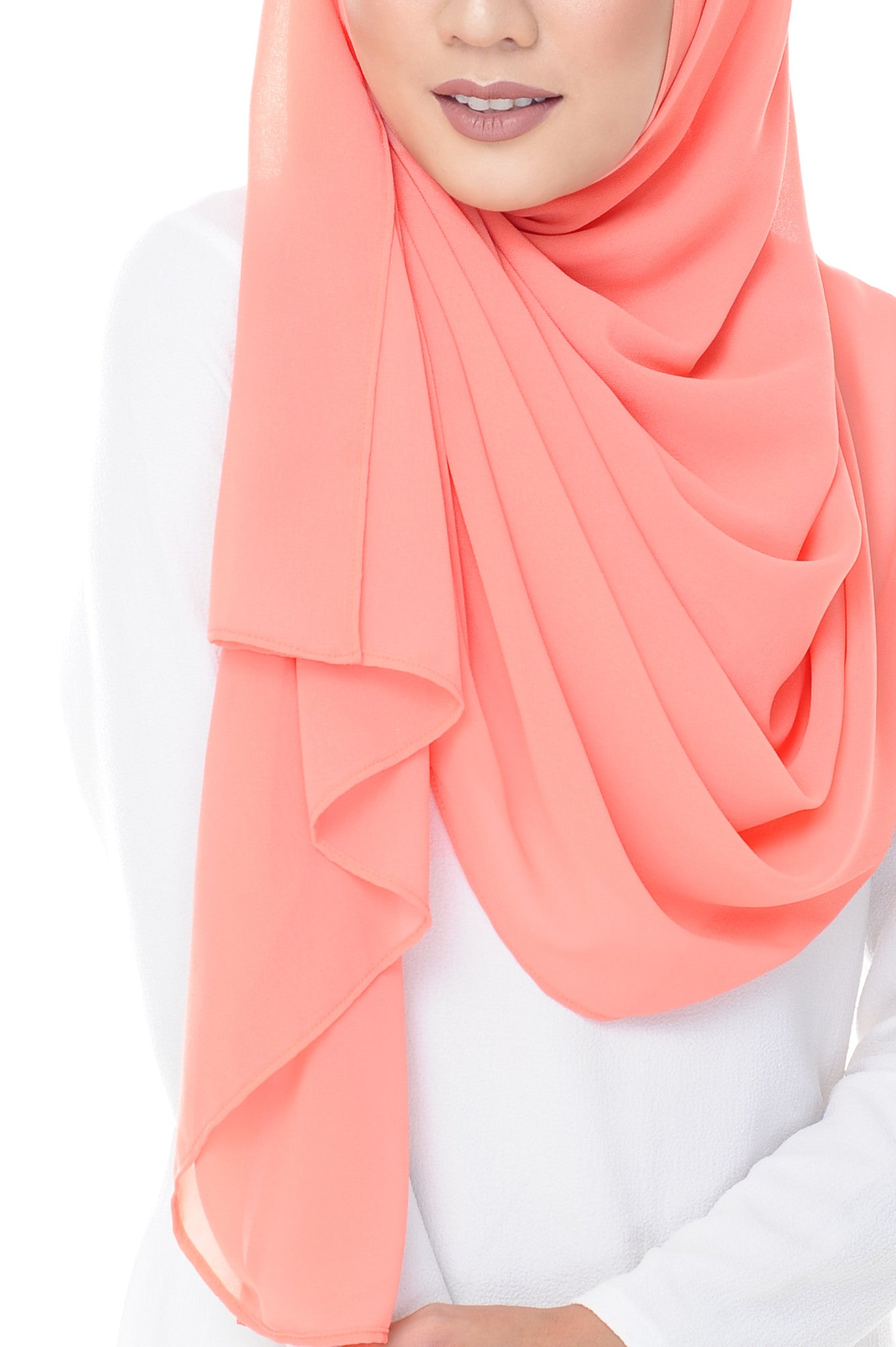 Marcella Instant Scarf in Atomic Tangerine
